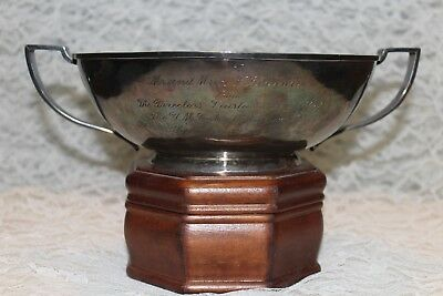 Large Joel Hewes Sterling (.925) Silver Bowl Hand Raised Circa 1933