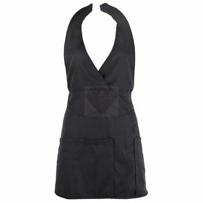 Apron black for nailstylists - non static !