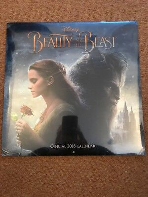 Beauty and the Beast Official 2018 Square Wall Calendar - BRAND NEW  (SKU 205)