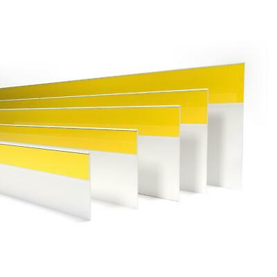 FLAT SELF-ADHESIVE DOOR WINDOW ARCHITRAVE WHITE PVC COVER STRIP , various size