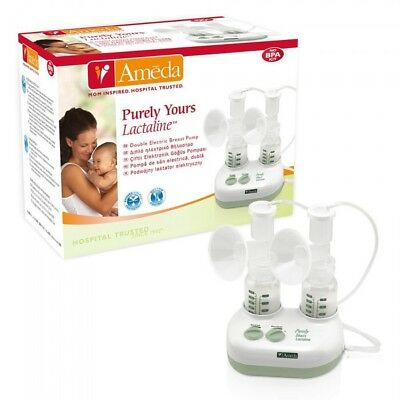 Ameda Purely Yours Lactaline Double Electric Personal Dual Breast Pump BNIB