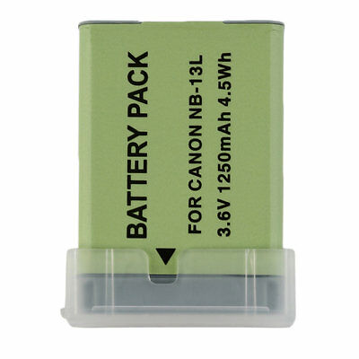 Rechargeable Camera Camcorders Battery For CANONNB-13L Powershot G7X 1010mah KL0