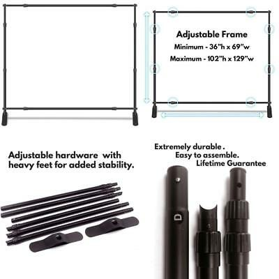 Wall26 Professional Large Tube Telescopic For Photography Backdrop Ships Free