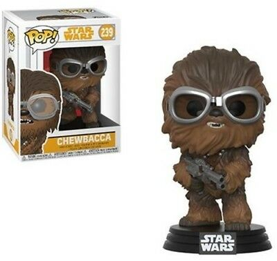 Solo - Chewie With Goggles - Funko Pop! Star Wars: (2018, Toy NUEVO)