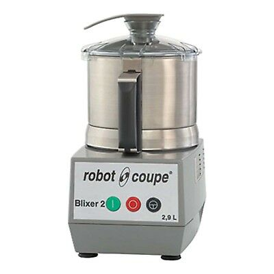 Robot Coupe Blixer 2 Single Speed Commercial Food Processor w/ 2.5 Qt. Stainless