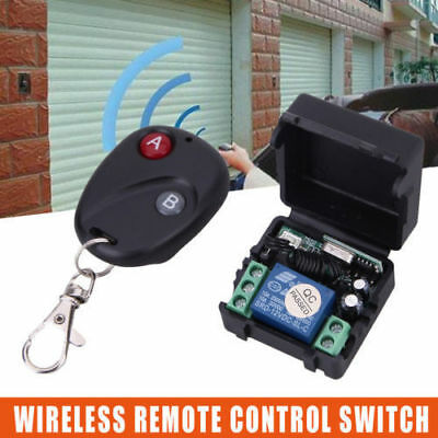 Wireless Remote Control Switch DC12V 10A 433MHz Transmitter with Receiver 433MHz