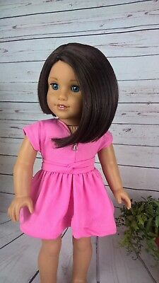 10-11 Custom Doll Wig fit Blythe-American Girl-1/4 Size Doll MESQUITE bn7