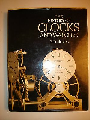 History of Clocks and Watches by Eric Bruton. 1st 1979.