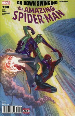 AMAZING SPIDER-MAN ISSUE 798 - FIRST 1st PRINT GO DOWN SWINGING - RED GOBLIN