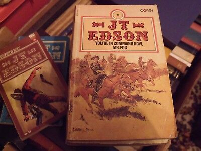 JT EDSON - YOU'RE IN COMMAND NOW, MR FOG ( Dusty Fog/Civil War) FREE UK POSTAGE