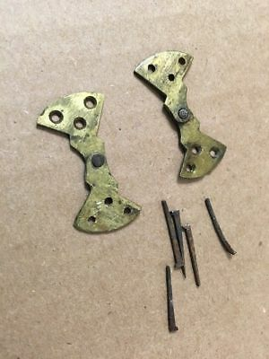 Antique Brass Door Hinges Hardware From Henry Smith Wooden Works Ogee Clock