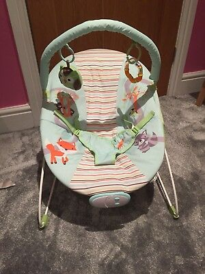 fff8775dd VIBRATING BABY BOUNCER chair - woodland friends - By Zobo - £17.03 ...