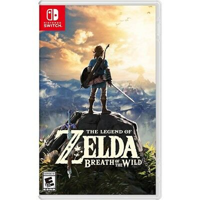 The Legend of Zelda: Breath of the Wild Nintendo Switch Brand New Factory Sealed