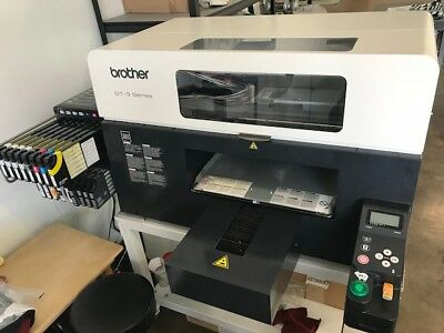 Brother GT 3 Series - 381 DTG Printer + Stand