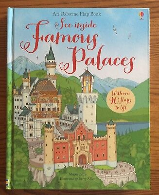 Usborne Flap BOOK See Inside FAMOUS PALACES NEW