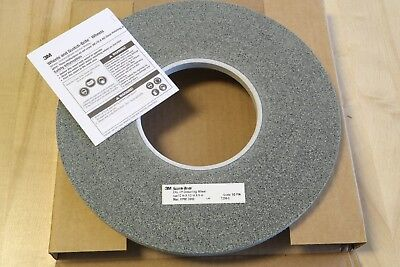 "3M Scotch-Brite EXL XP 12"" x 1/2"" x 5"" Unitized Deburring Wheel 9S Fine 60445"