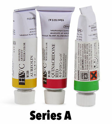 Holbein Artists' Watercolor Tubes Series A, Choose Your Colour By One.