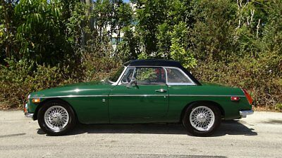 1971 Mg Mgb See Full Item Description Below 1971 Mga British Leyland Roadster Hard + Soft Tops Excellent Condition In An Out