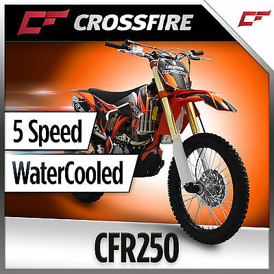 Crossfire CFR250 250cc Dirt Trail Bike Full Size KX250F Size ORANGE