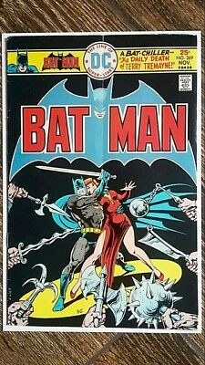 """Batman #269 (1975) DC!  """"The Daily Death of Terry Tremayne""""!  PRICED TO SELL!"""