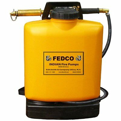 Fedco Categories FER501 Poly Tank Fire Pump With Pump, 5-Gallon