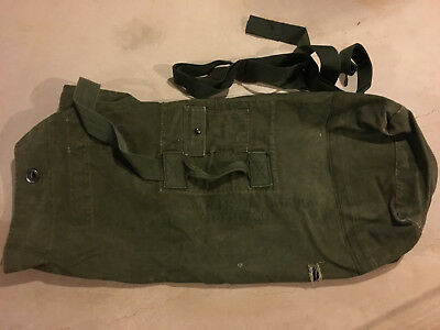 Vintage 'U.S. Army WWII/ Korea Duffel Bag'..Named..collectible!
