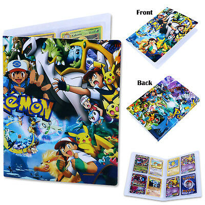Album Collection For Pokemon Trading Folder Portfolio Binder Cards Holder Packs