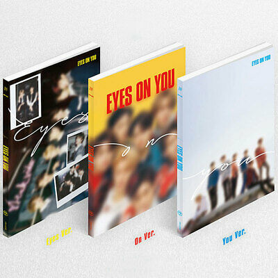 GOT7 [EYES ON YOU] 8th Mini Album CD+POSTER+L.POSTER+P.Book+Card+Pre-Order+GIFT