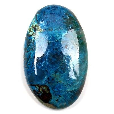 Beautiful Real AZURITE 30x19 mm Oval Cabochon Gemstone 32 Cts Wholesale S-14500