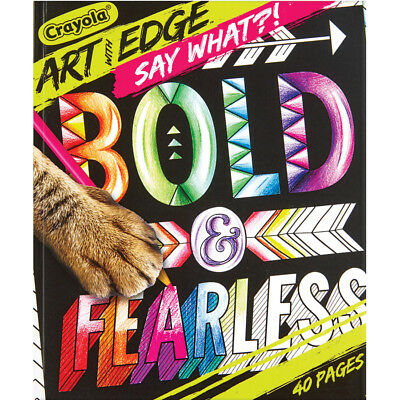 """Crayola Art With Edge """"Say What"""" Coloring Book"""