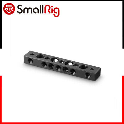 """SmallRig Camera Cheese Bar Cheese Plate with 1/4"""" & 3/8"""" Threaded Holes 1091-DE"""