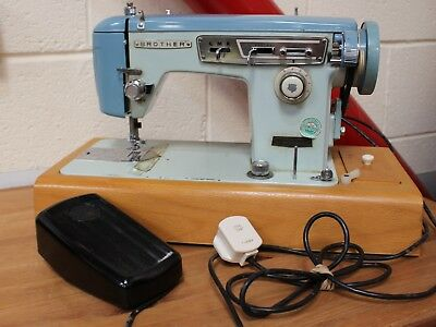 Brother Vintage Electric Sewing Machine 1960s Retro / Shabby Chic -Working- 223