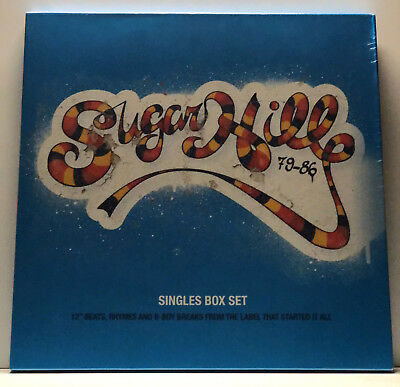 "2018 RSD 4x12"" MAXI VINYL BOXSET SUGARHILL RECORDS GRANDMASTER FLASH +++ RAR"