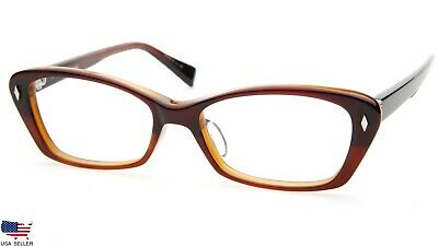 f1cd6a2627 NEW PRODESIGN DENMARK 1744 1 c.5024 BROWN EYEGLASSES FRAME 52-16-140 ...