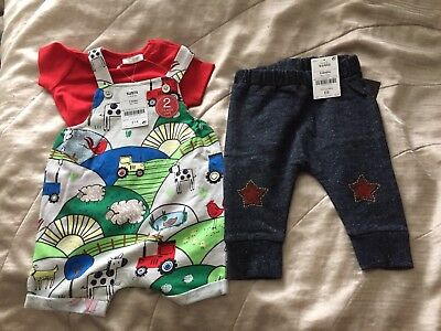 Next Baby Boys Clothes 3-6 Month