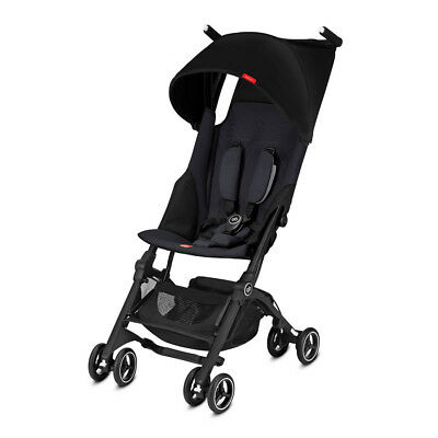 GB Pockit+ Stroller - Satin Black