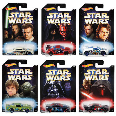 Hot Wheels Star Wars Vehicles - Assorted