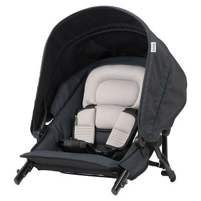 Steelcraft Strider Compact Deluxe Edition Second Seat - Black Linen