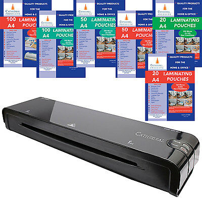 Cathedral Home & Office A3 A4 A5 Laminator / Laminating Machine Pouches Roller