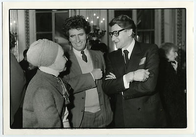MODE - Yves SAINT- LAURENT - GRES - Jack LANG Photo Presse Originale