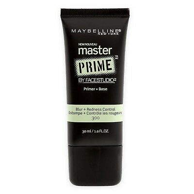 Maybelline MASTER PRIME Face Primer Blur + Redness Control 300 - Full Size