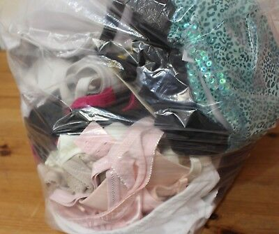 Job Lot of 3.2 KG of Womens BRAS Mixed Sizes and Styles Various Brands  - 212