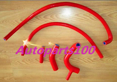 Red Silicone Radiateur  heater hose for AUSTIN MINI CLUBMAN /COOPER 850/998/1098