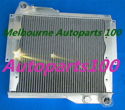 56mm Aluminum Radiateur radiator for ROVER MGB GT V8 1973-1976 Manual 1974 1975