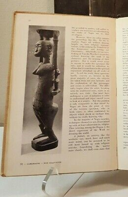 Fine African Art book YEAR 1950 Mask Figure Sculpture Statue