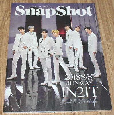 IN2IT SnapShot 1st Single Album Runway ver. K-POP CD + PHOTO CARD + STAND SEALED