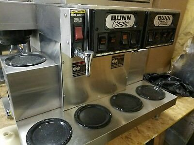 Bunn Cwtf Twin 0/6 Commercial Cafe Coffee Brewer Maker Machine