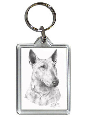 Mike Sibley Dalmatian Quality Acrylic Keyring 50 mm x 35 mm Dog Lover Gift