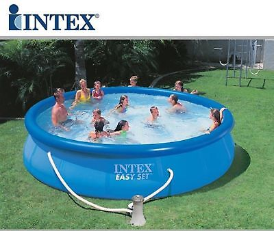 56409 INTEX PISCINA EASY CM 457x107 CON POMPA FILTRO
