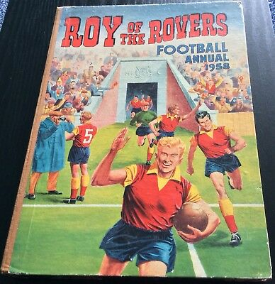 Roy of the Rovers Football Annual 1958 Roy Race Melchester